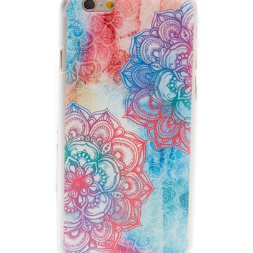 Rainbow Tahitian Flower Case for iPhone 5 / 5S & SE