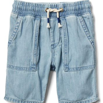 Pull-on denim shorts | Gap