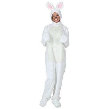 White Rabbit Costume Cosplay Costumes For Women Lady Clothes Winter Warm Outfit Dress Up Cartoon Animal Clothes