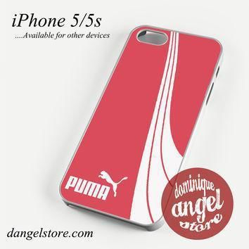pink puma phone case for iphone 4 4s 5 5c 5s 6 6 plus  number 1