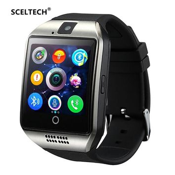 SCELTECH S1 Smart Watch Support Sim TF Card Phone Call Push Message Camera Bluetooth Connectivity For IOS Android Phone