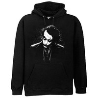 The Dark Knight Dark Joker Men's Hoodie (Men's Small)