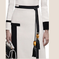 Buy Helis Tasseled String Belt | YesStyle
