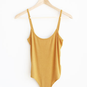 Scoop Back Bodysuit - More Colors