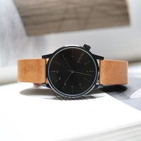 KOMONO Winston Regal Watch in Cognac