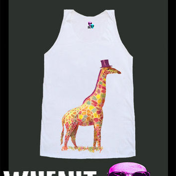 worldwide shipping just 7 days GIRAFFE shirt singlet tank top 10343