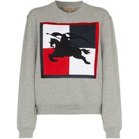 Embroidered Jousting Sweater by Burberry