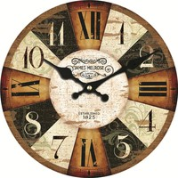 WONZOM Colorful Design Classic Reloj Wall Clock Fashion Silent Living Room Wall Decor Saat Home Decoration Watch Wall 2017 Gift