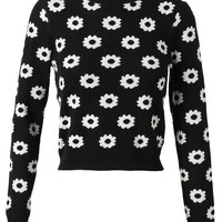 OPENING CEREMONY | Floral Patterned Cotton Knit | Browns fashion & designer clothes & clothing