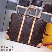 DCCK LV Louis Vuitton MONOGRAM CANVAS Porte-Documents Voyage BRIEFCASE CROSS BODY BAG