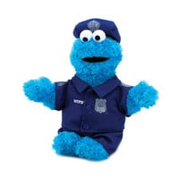 POLICE OFFICER COOKIE MONSTER PLUSH