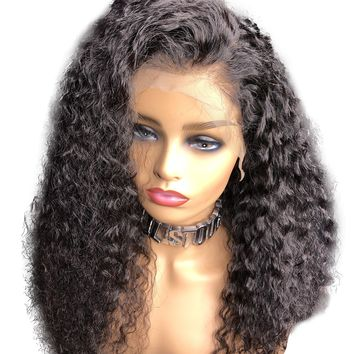 Jerry Curl Full Lace Brazilian Wig | 18-24 inches