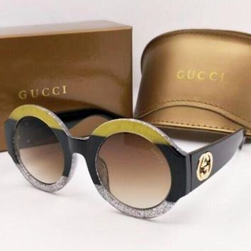 Kalete GUCCI Fashion Women Men Delicate Summer Colorful Frame Sun Shades Eyeglasses Glasses Sunglasses I-8090-YJ