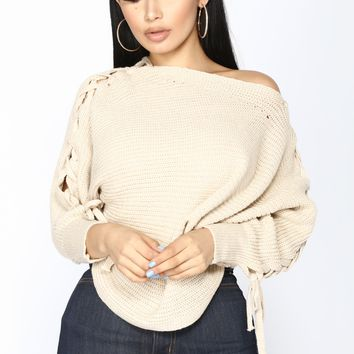 Cross Town Sweater - Ivory