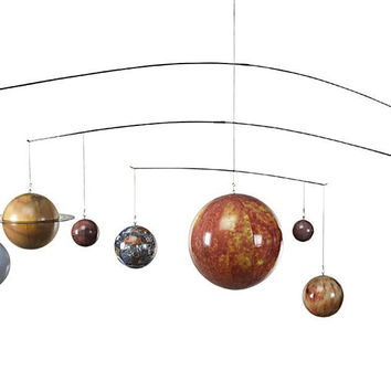 Hanging Planets - Solar System Mobile