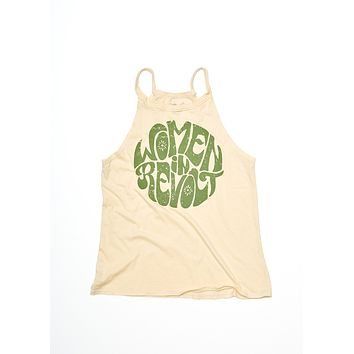Women in Revolt Halter Tank - Summer Melon