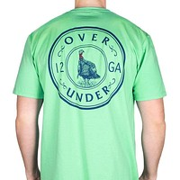 Turkey Shoot Tee in Bermuda Green by Over Under Clothing