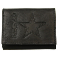 Dallas Cowboys Black Leather Wallet