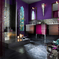 Purple Bathroom Design Idea - My Favorite Ever!