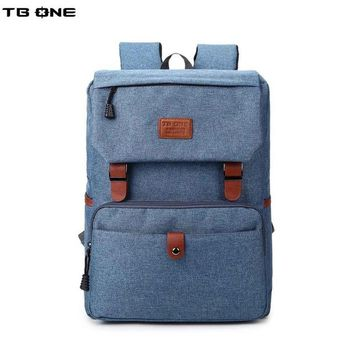 University College Backpack TBONE  For Junior High School Students School Bag Male Large Capacity Casual  Students Simple Campus AT_63_4