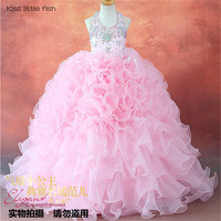 Free shipping High quality  Latest original design  Kids beauty pageant dresses kids prom dresses communion dresses
