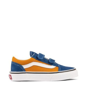 ONETOW Vans Pop Old Skool V Kids - OG Blue/OG Gold