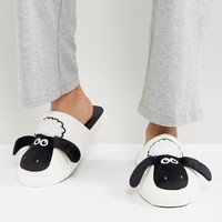 Fizz Shaun The Sheep Slippers at asos.com