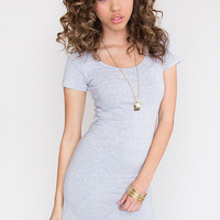 Riviera Basic Dress - Grey