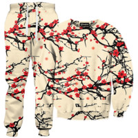 Floral Cherry Blossom Tracksuit