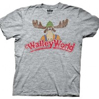Christmas Vacation Walley World Adult Gray T-Shirt - National Lampoon's Christmas Vacation - | TV Store Online