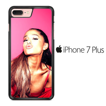Ariana Grande Kiss Lips iPhone 7 Plus Case