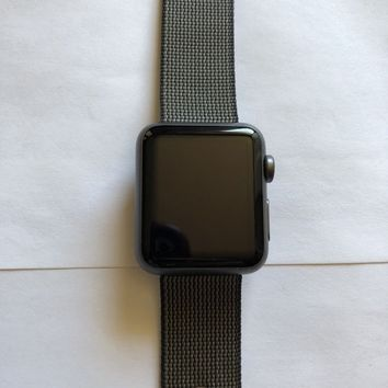 """Apple watch series 1 38mm Woven Nylon """"EXCELLENT CONDITION"""""""