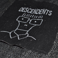 Descendents embroidered iron-on patch