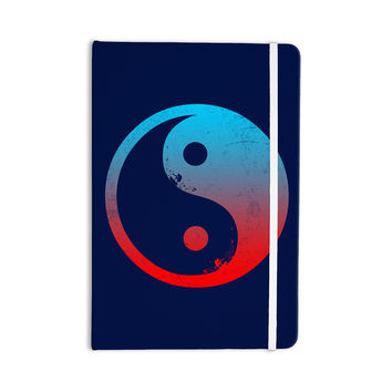 "Federic Levy-Hadida ""Ying Yang Surfers"" Red Blue Everything Notebook"