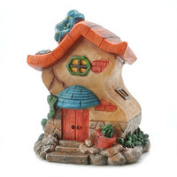 Fairy Garden House 4.75 x 6 x 3.75 Inches x 1 Piece