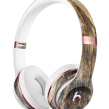 Rich Eroded Wood Planks Full-Body Skin Kit for the Beats by Dre Solo 3 Wireless Headphones