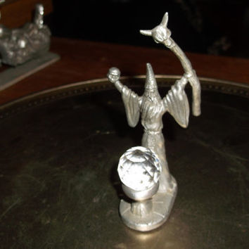 Pewter Spoontiques Merlin Wizard or Sorcerer by carpenterrjean