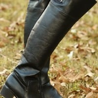 Hit Your Stride Boots-Black
