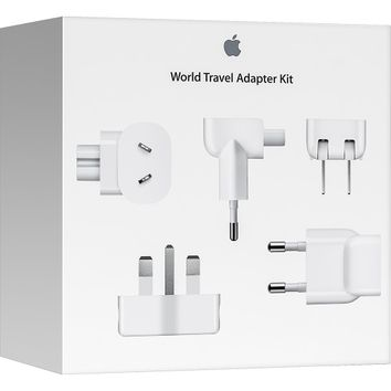 Apple® - World Travel Adapter Kit for Select Apple Devices - White