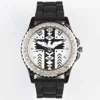 Tribal Dial Watch Black One Size For Women 24026110001