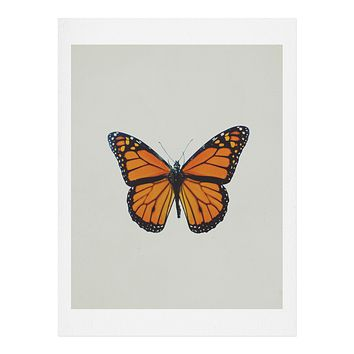 Chelsea Victoria The Queen Butterfly Art Print