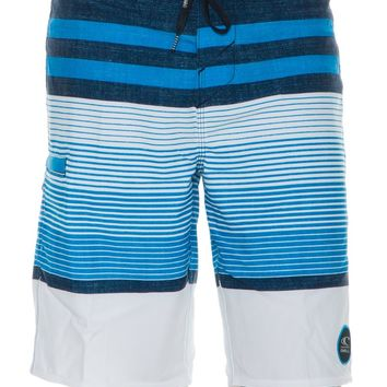 O'NEILL HEIST STRIPED BOARDSHORT
