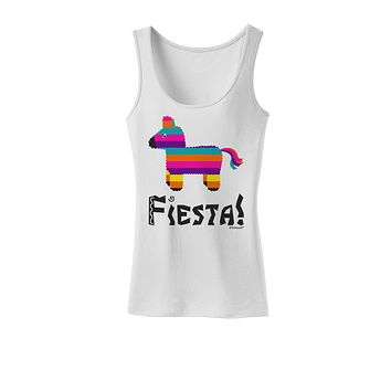 Colorful Pinata Design - Fiesta Womens Tank Top by TooLoud