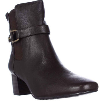 Tommy Hilfiger Gatsbi2 Casual Ankle Boots, Dark Brown, 11 US