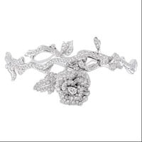 ROSE DIOR BAGATELLE Bracelet in 18k white gold and diamonds