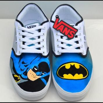 Mens Shoes, 100% Hand Painted, Mens Painted Vans or Converse, Mens Custom Shoes, Vans,