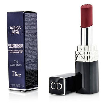 Christian Dior Rouge Dior Baume Natural Lip Treatment Couture Colour - # 760 Garden Party --3.2g-0.11oz By Christian Dior