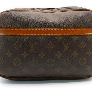 Louis Vuitton Monogram Canvas Reporter Shoulder Bag Brown M45254 9342