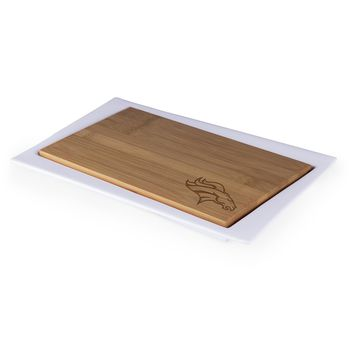 Denver Broncos - Enigma Cutting Board & Serving Tray (Bamboo)