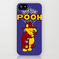 Doctor Pooh iPhone Case by Cû3ik Designs | Society6